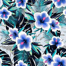 Floral fashion print & pattern